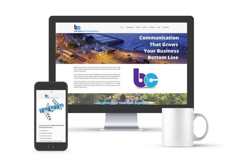 Bartlett Communications website