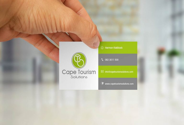 Cape Tourism Solutions business card design