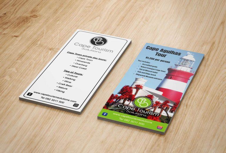 Cape Tourism Solutions flyer design