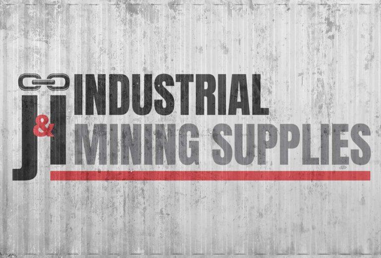 J&I Industrial Mining Supplies logo design