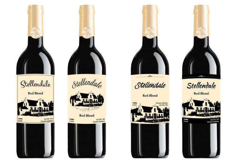 Stellendale Wine labels design