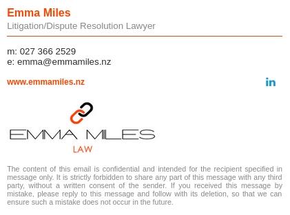 emma miles email signature