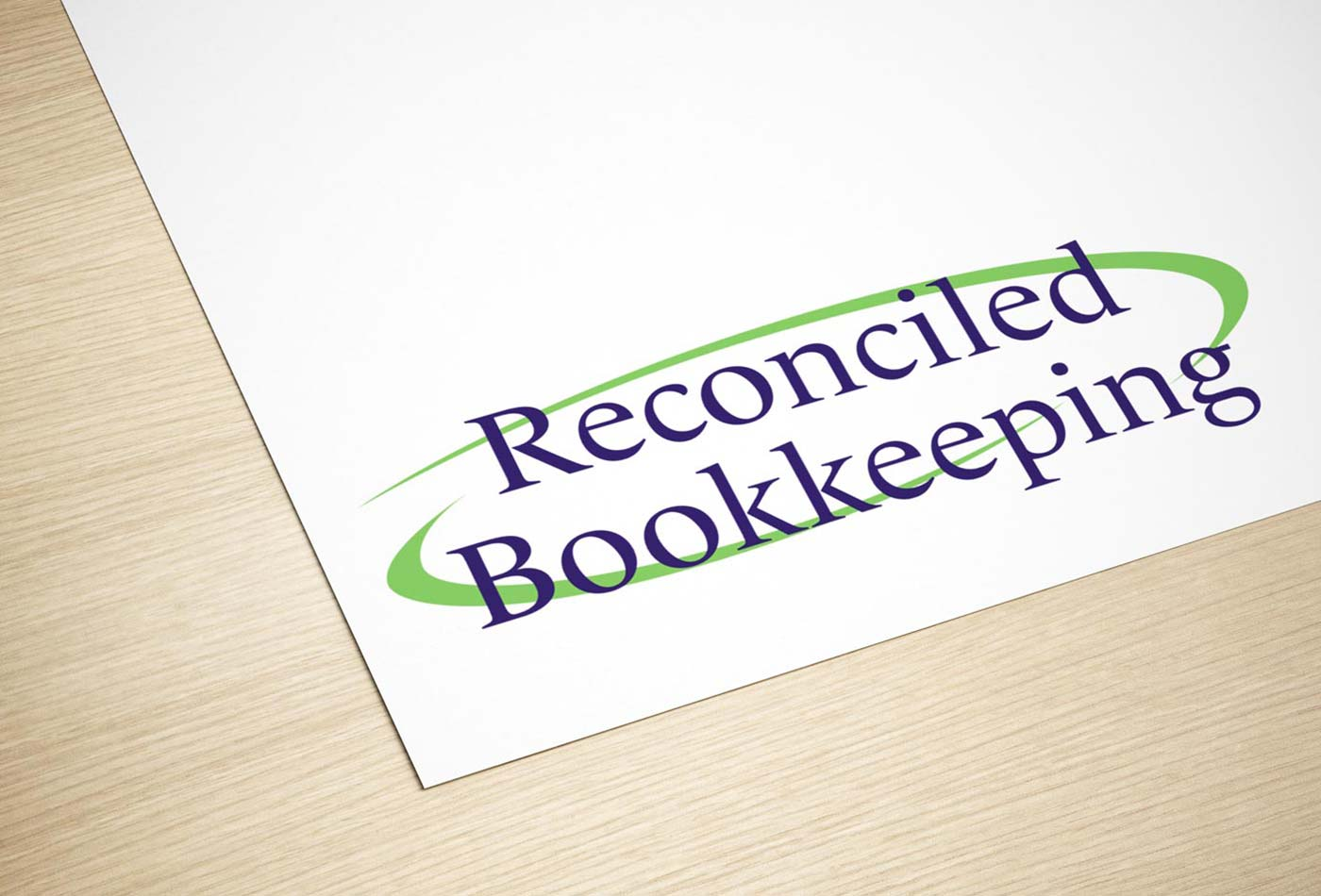 Reconciled Bookkeeping logo