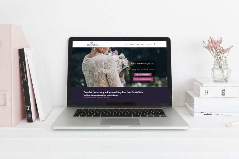 Perfect Bride website